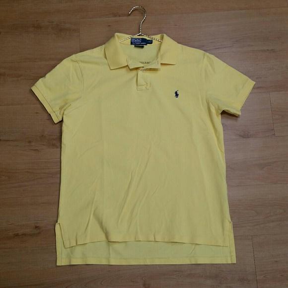 c54a3503f Polo Ralph Lauren Men s Polo Shirt Yellow. M 5bf6bdc5c2e9fe96b7678068